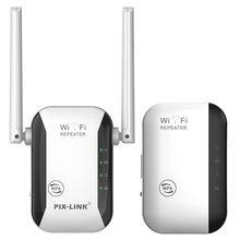 Wireless-n wifi repetidor 802.11n/b/g rede wi fi roteadores 300mbps faixa expansor sinal impulsionador extensor wifi ap wps criptografia