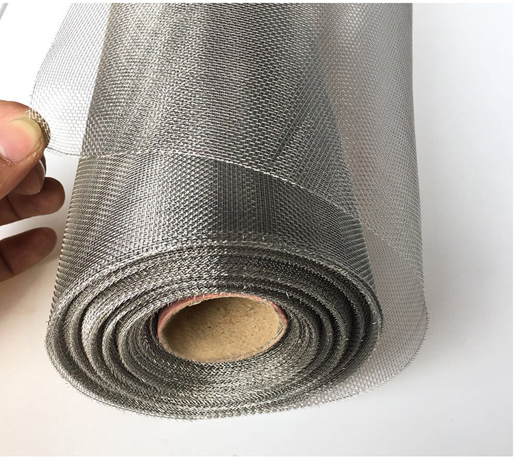 10m Thick More Dense Style Width 1m Metal Mesh Screens,stainless Steel Net,anti-mosquito,insect ,fire Protective Net,food Filter