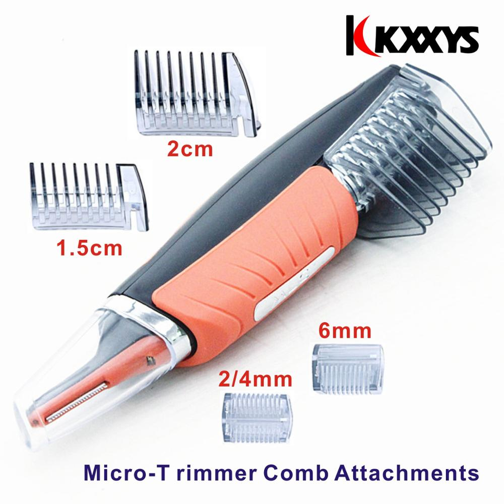 Micro Precision Eyebrow Ear Nose Trimmer Removal Clipper Shaver Personal Electric Face Care Hair Trimer With LED Light