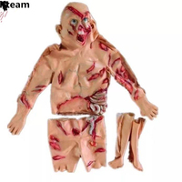 Adults Latex Halloween Cosplay Scary Zombie Ghost Costume Horror Swamp Party Props Stage Outfits Clothing Costume fancy dress up