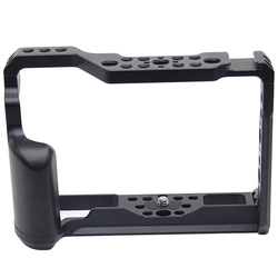 X-T3 Aluminum Alloy Camera Video Cage for Fujifilm X-T3/X-T2 Camera Cage Stabilizer Rig Protective Case Cover
