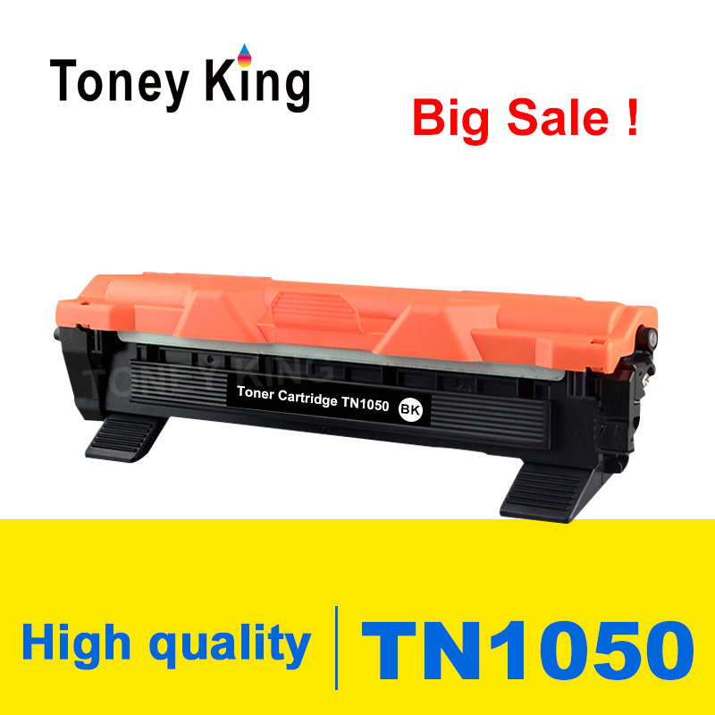 Toney King Toner Cartridge TN1050 TN 1050 Compatible For Brother HL-1110 1112 DCP-1510 1512R MFC-1810 Printer With Chip