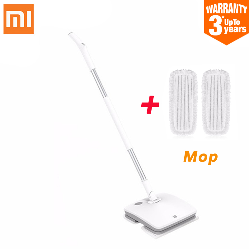 Xiaomi SWDK D260 Handheld Electric Floor Mop Wireless Mijia Wiper Floor Washer Mopping Robot Household Cleaning With LED Light-in Vacuum Cleaners from Home Appliances