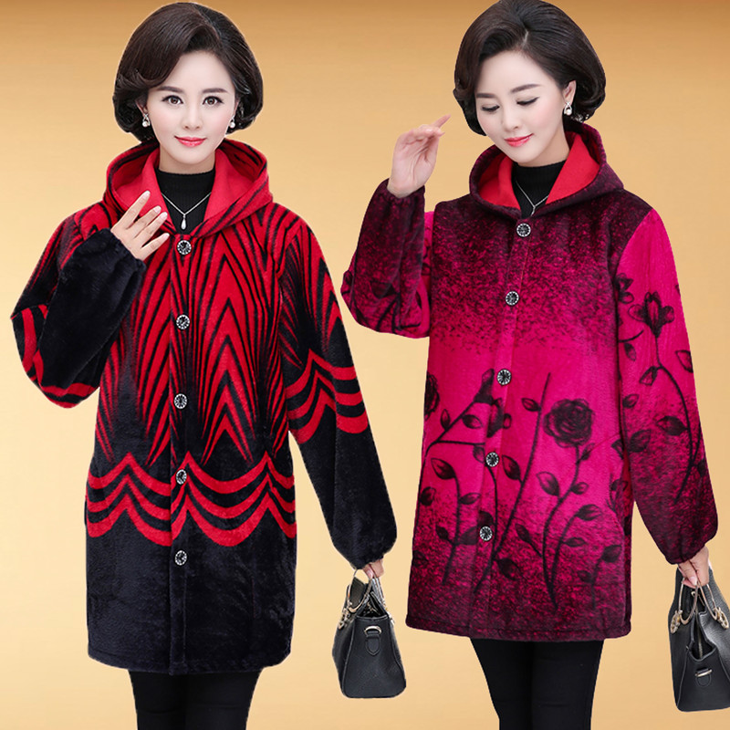 Flannel Thick Autumn And Winter Overclothes Adult Plus Velvet New Style Apron Work Clothes Down Jacket Overclothes Protective Cl