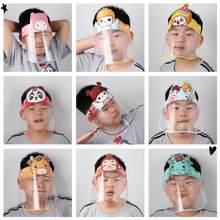 Casquette pour enfants, protection faciale complète anti-éclaboussures et anti-gouttelettes, masque Transparent HD pour les outils de cuisine, nouveauté 2020