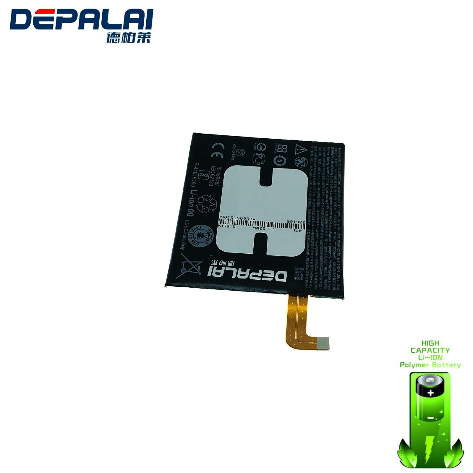 High Quality 3000mAh B2PZC100 Battery Fit For HTC U-3U U11 601HT Sprint 2PZC5 Batteries Batterij High Capacity