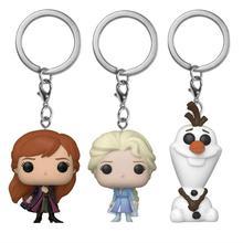 Orijinal kutusu 2020 yeni sıcak dondurulmuş 2 prens Elsa Anna Olaf çizgi film bebeği anahtarlık çocuk oyuncağı doğum günü hediyesi koleksiyonu oyuncaklar