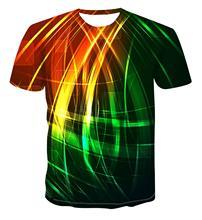 Letnie męskie 3D T-shirt z nadrukiem 3dcdc t-shirt z nadrukiem męska koszulka ulicy na co dziń z nadrukiem T-shirt z nadrukiem lato czarny T-shirt tanie tanio Krótki O-neck Topy Tees routine Suknem Poliester Na co dzień Floral
