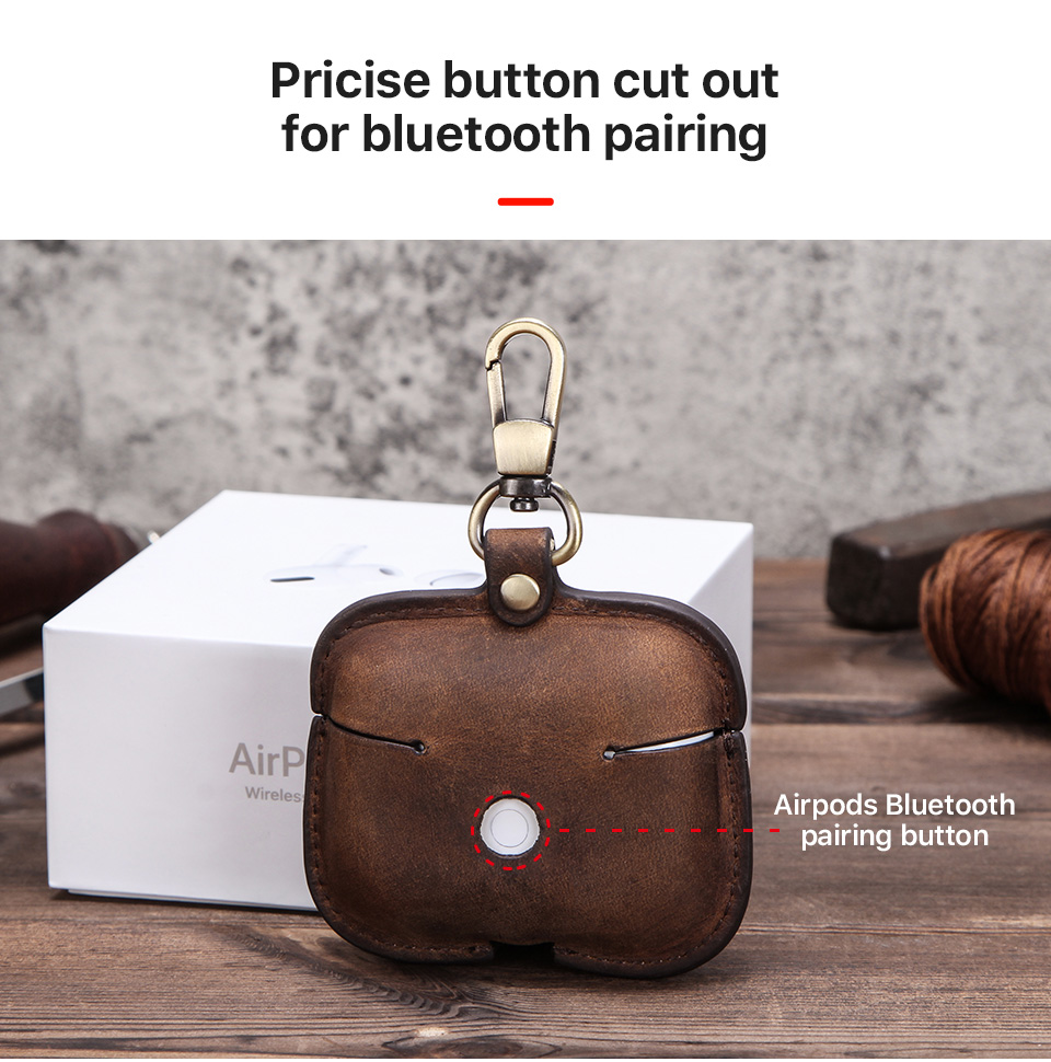 Retro Genuine Case for Airpods Pro 41