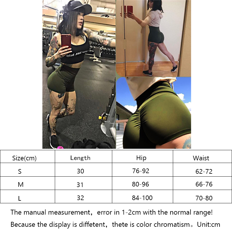 2019 New Hot Sale Women Shorts Sport Yoga Fitness Short Pants Workout Casual Beach Yoga Shorts Compression Shorts Women in Yoga Shorts from Sports Entertainment