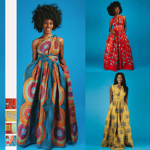 New African summer DIY tie print clothes nightclub irregular tight high waist split fashion long dress for women JQ-10025