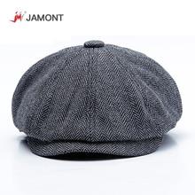 JAMONT Plus Size Peaky Blinders Men Berets Hat Autumn New Vi