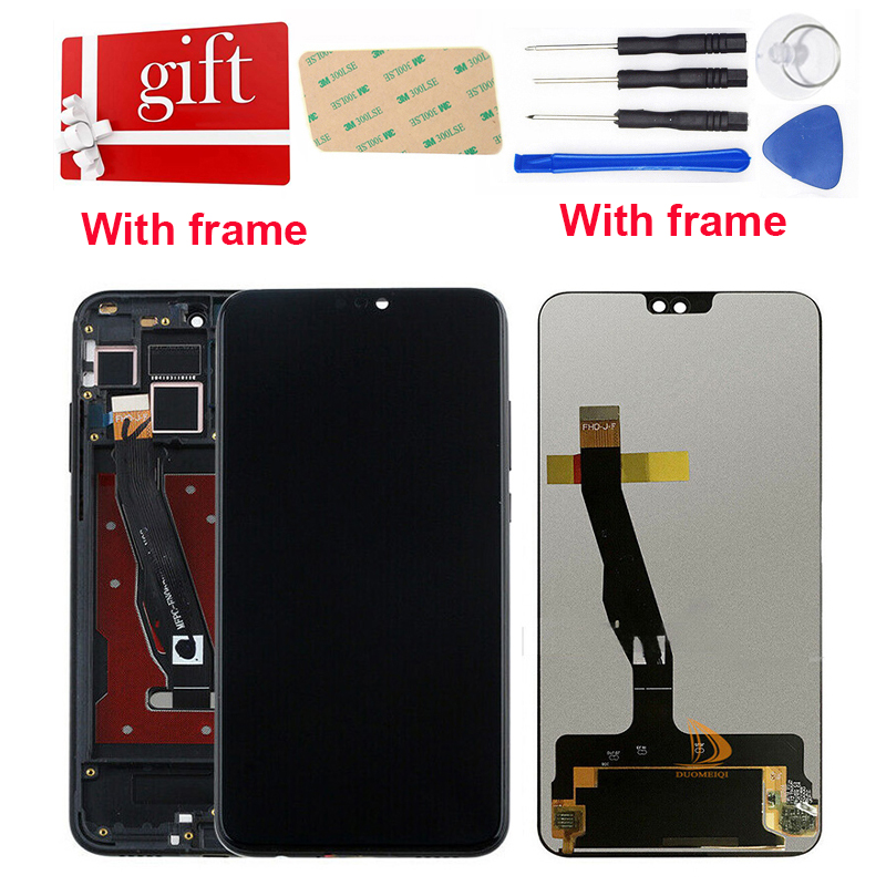 For Huawei Honor 8X Enjoy Max LCD Display Touch Screen Digitizer L21 L22 L23 L42 Honor 8X View 10 Lite LCD Assembly Replacement