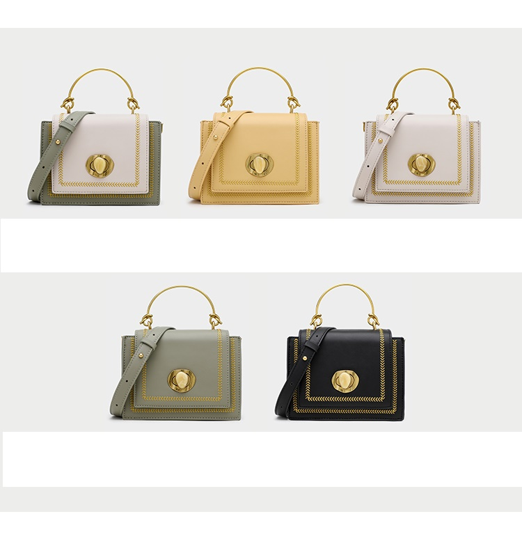 British Fashion Small Square Bag Women 39 s Designer Handbag 2019 High quality PU Leather Chain Mobile Shoulder bag Travel Lady bag in Top Handle Bags from Luggage amp Bags