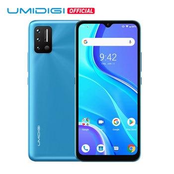"UMIDIGI A7S 6,53 ""20:9 gran pantalla completa 32GB 4150mAh Triple Cámara versión Global teléfono móvil infrarrojo Sensor de temperatura tipo C"