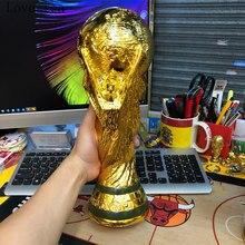 Avrupa altın reçine dünya kupası futbol 36 cm kupa Rugby kupası şampiyonu ödülü hatıra erkek zarif doğum günü noel hediyesi