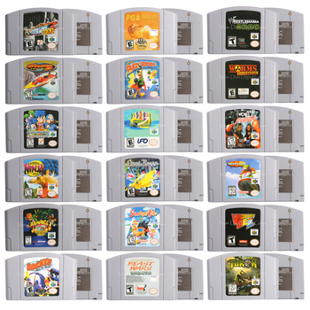 64 Bits Video Game Cartridge Games Console Card Worms Armageddon English Language US Version For Nintendo 1
