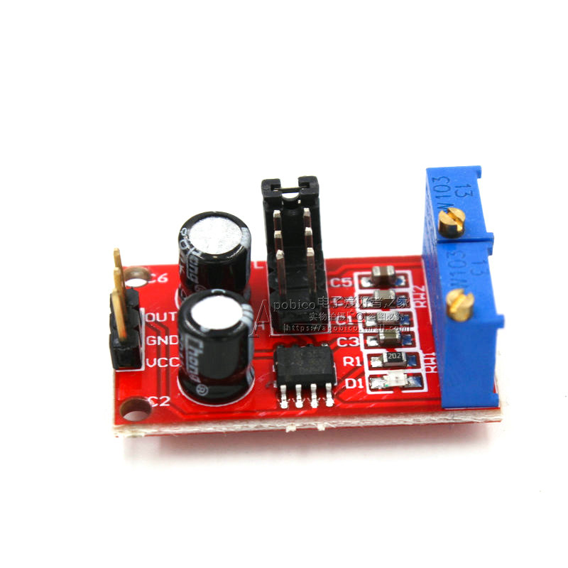 NE555 Pulse Frequency Duty Cycle Adjustable Module Square Wave Rectangular Wave Signal Generator