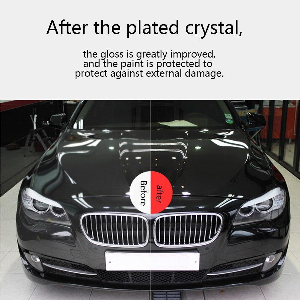 500 мл покрытие для автомобиля, полированный нано воск для автомобиля, импорт нано гидрофобного слоя, уход за автомобилем с полотенцем