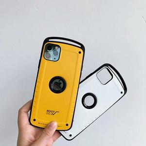 Image 2 - Root Go Anti Knock Case for iPhone 11 Pro Max X XR XS 7 8 Plus Shockproof Back Shell Cover Hard PC Silicone Hybrid Capa Coque