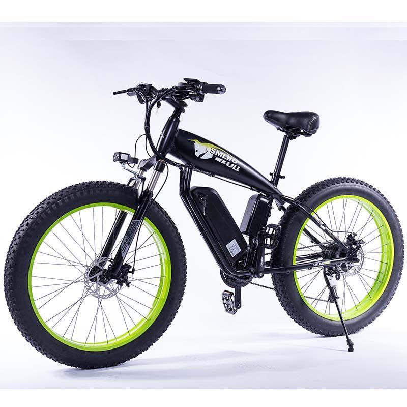 Rower elektryczny 1000W4.0 fat tire rower elektryczny rower cruiser Booster rower składany 48v 15AH bateria litowa ebike