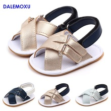 New Casual Baby Sandals Shoes Rubber Soft Sole Crib Sandals Trainer Shoe Sneaker Infant Toddler Boy Girl Non-slip Shoes стоимость