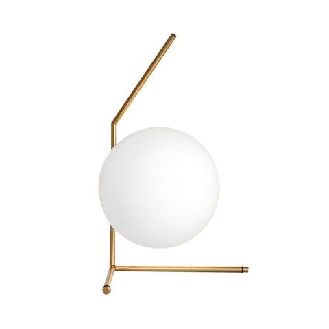 pos moderno conduziu a lampada mesa