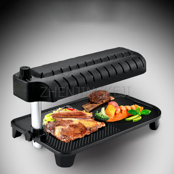 Small Infrared Electric Oven Home 220V Multifunction Smoke-Free Non-Stick Grill Cyclic Heat Barbecue Machine 1500W Korean 3D Ove cyclic pure submodules
