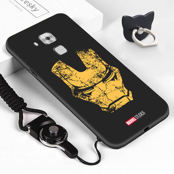 For Huawei NovaPlus Maimang5 G9plus Shockproof Retro Marvel Avenger Case Ironman Spiderman Casing Soft TPU Silicone Phone Cover image