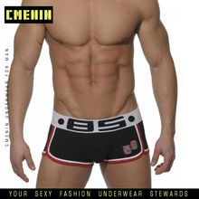 brand mens boxers cotton sexy men underwear mens underpants male panties shorts U convex pouch for gay Cotton Boxershorts BS68 cheap CMENIN spandex Polyester Blends Boxer Shorts Patchwork White Red Black Plus Size M L XL XXL 2019 New Arrival Sexy Cueca Boxer Mens Underpants