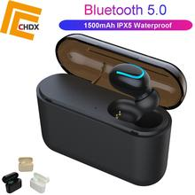 CHDX Wireless Earphones Bluetooth Earbuds Noise Reduction with Microphone for Mobile Phone High Quality