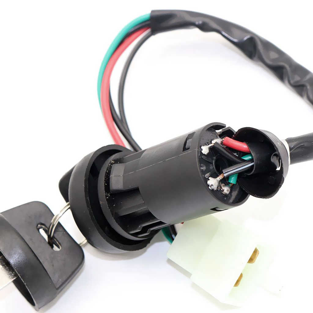 4 Wire Ignition Key Switch For 50 90 110 125cc Chinese ATV TAOTAO Dirt  Bike| | - AliExpressAliExpress