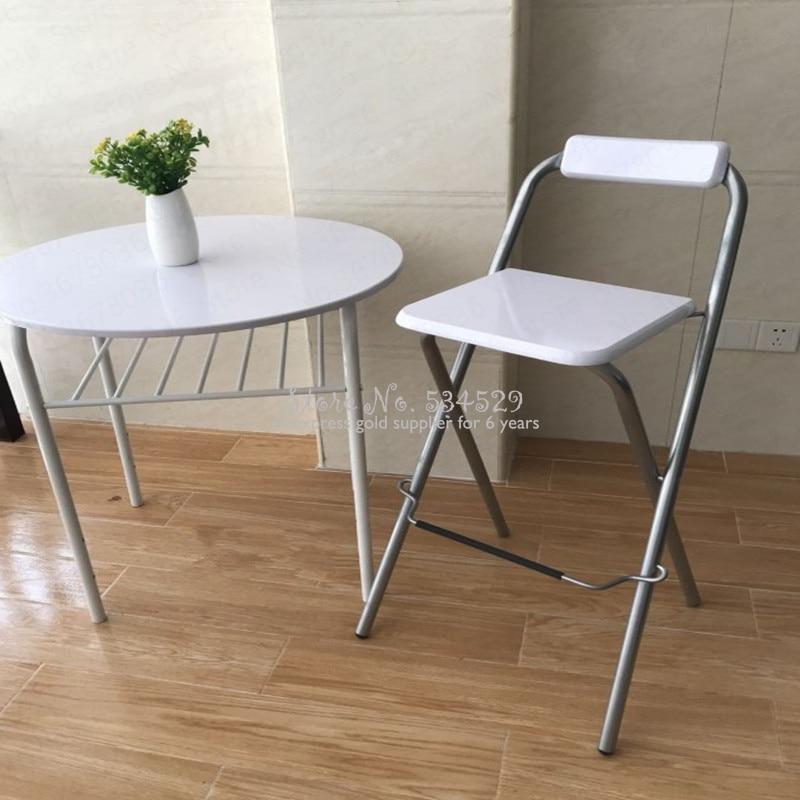 21%New European Folding Bar Chair High Bar Chair Fishing Chair Outdoor Folding Fishing Chair
