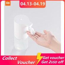 Xiaomi mijia indução automática de espuma máquina lavar mão conjunto inteligente espuma dispensador sabão limpeza profunda máquina lavar mão sensor infravermelho