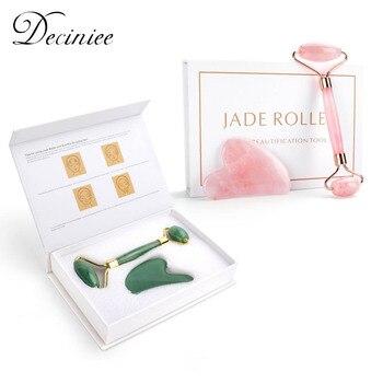 Deciniee Rose Quartz Jade Roller 1
