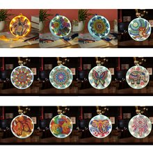 DIY Diamond Painting Led Night Light Special Shaped Drill Cross Stitch Embroidery Number Kit Lamp for Bedroom Art Craft New