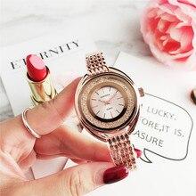 CONTENA великолепные стильные женские наручные часы из нержавеющей стали модные кварцевые часы женские кварцевые часы Relogio подарок