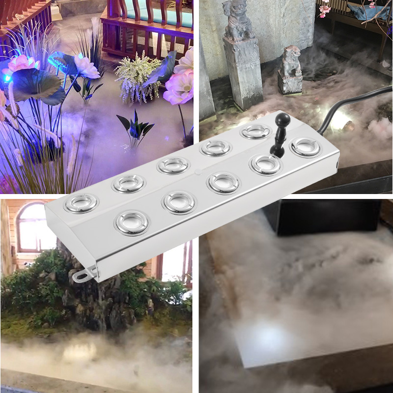 New Ultrasonic Atomizer Industry Mist Maker Sprayer Garden landscape Fish pond Atomizing Plates Ultrasonic Humidifier Parts