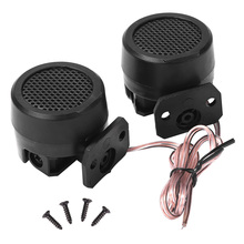 Car Tweeter Durable Practical Multi-functional Classic Texture 500W 4Ω Dome Speaker