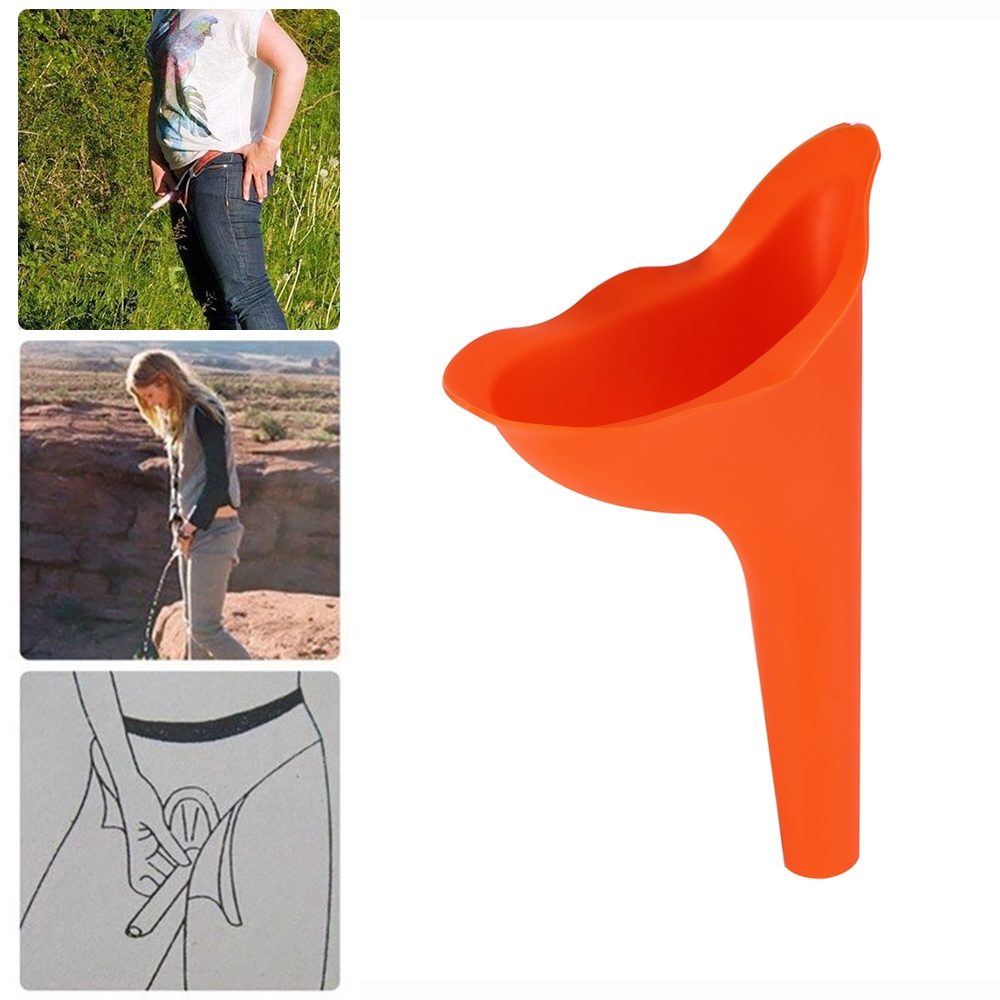 1PC Women Silicone Portable Urinal Stand Up Female For Travel Camping US