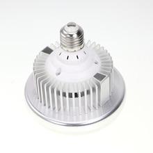 โลหะ 125W 5500K 220V LED สตูดิโอวิดีโอ Daylight โคมไฟ E27 หลอดไฟสำหรับสตูดิโอถ่ายภาพ Softbox strobe Light
