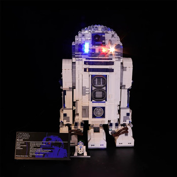 Led Light Set Compatible For 10225 Star Series Wars R2-D2 Robot 05043 Building Blocks Bricks Toys Gifts (Only Light+Battery Box) image