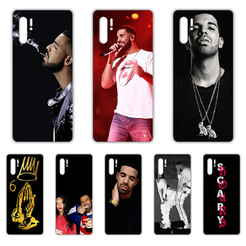 Rapper Aubrey Drake Graham Phone Case cover For HUAWEI p 8 9 10 20 30 40 P pro Smart 2017 2019 Z lite transparent prime painting image