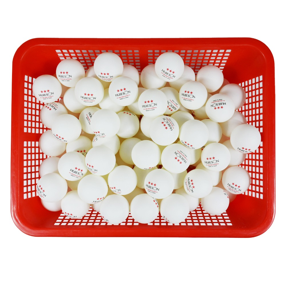 Huieson 10pcspack Table Tennis Balls 3 Star 2.8g 40+mm New ABS Plastic Ball For Ping Pong Training Drop Shipping (1)