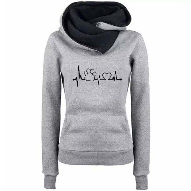 Autumn Winter Hoodies Women Pattern Embroidery Long Sleeve Plus Size Fashion Pullovers Sweatshirt Tops Vintage Warm Hooded 4