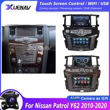 Автомобильное радио мультимедийный плеер для Nissan Patrol Y62 2010 2011 2012 2013 2014 2015 2016 2017 2018 2019 2020 Стерео DVD GPS плеер