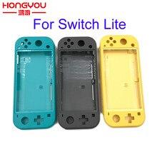 NS Switch Lite 케이스 교체 Nintendo switch lite 용 플라스틱 쉘 커버 콘솔 하우징 전체 버튼