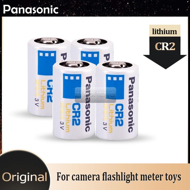 Литиевая батарея Panasonic CR2 CR15H270 CR15266, 3 в, 800 мАч, 4 шт.