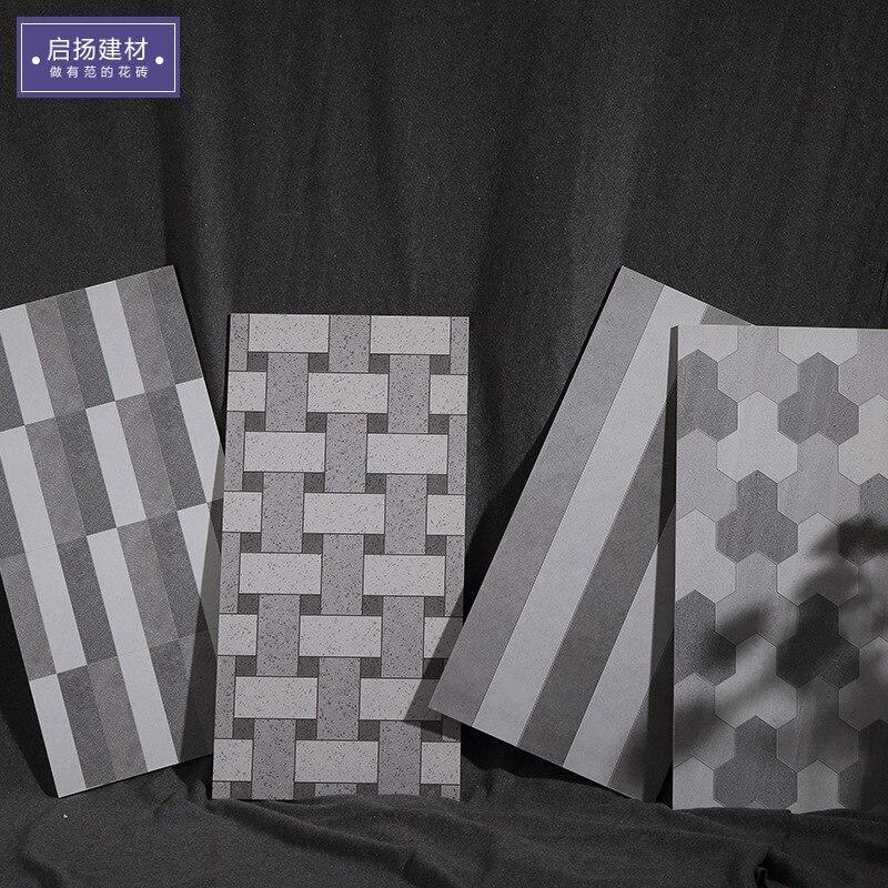 Кухня спальня цемент старый кирпич плитка ламинат Серый Цвет Ретро напольная плитка настенная плитка 300*600