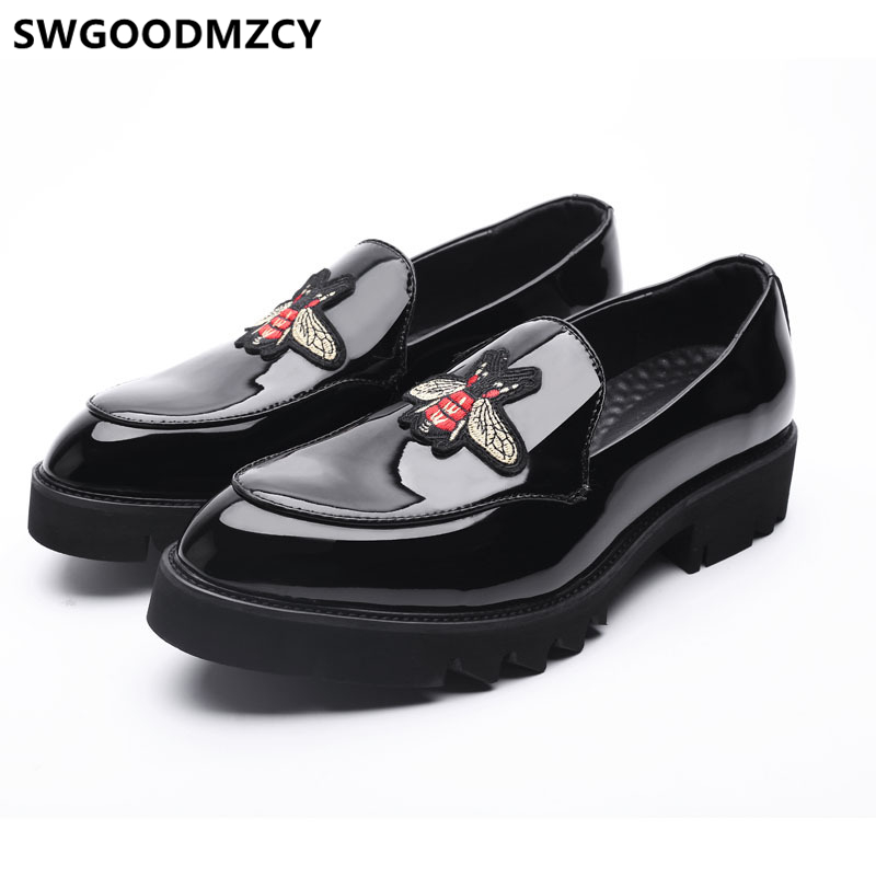Coiffeur Patent Leather Shoes Men Formal Wedding Dress Loafers Men Italian Shoes For Men Elegant Shoes For Men Evening Dress